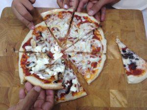 פיצה מפיתה עיראקית
