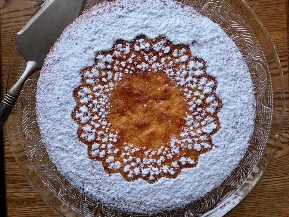 עוגת גזר תפוז
